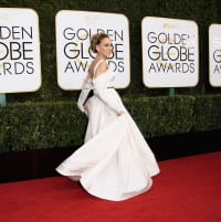 Sarah Jessica Parker at the Golden Globes