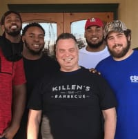 New England Patriots Killen's Barbecue