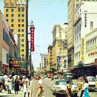 Houston Street San Antonio 1950s
