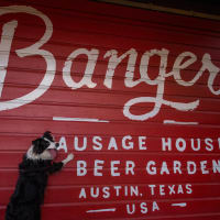 Banger's Sausage House & Beer Garden dog