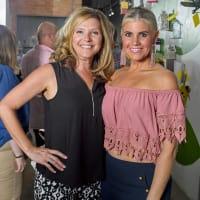 Dana McWhorter, April Ryan at Sawyer Yards Artists Stroll