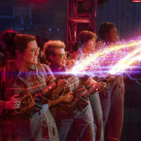 Melissa McCarthy, Kate McKinnon, Kristen Wiig, and Leslie Jones in Ghostbusters
