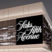 Saks Fifth Avenue Galleria store rendering