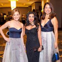 Dena Winkler,Farida Abjani, Anika Jackson at Planned Parenthood Gala