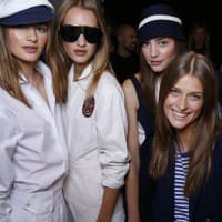 Ralph Lauren spring 2016 collection backstage