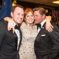 Sarah Duchess of York, Brian Teichman, Unidentified at Virtuosi Gala