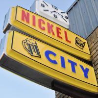 Nickel City bar sign