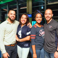 Houston, Boys and Girls Harbor Fantasy Football Draft Night, Tony Winrow, Chaleste Winrow, Jammie Winrow, Kente Winrow