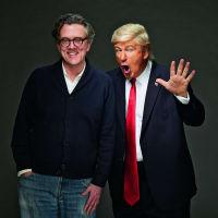 Kurt Andersen and Alec Baldwin (as Donald Trump)