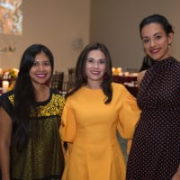 Houston, MFAH HOME Opening Dinner, November 2017, Gabriela Conde, Michele Leal, Marisol Valero