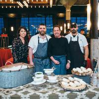 Houston, TCH Cooking Up A Cure, February 2018, Carol Rivas, Farid Benaissa, Richard Kaplan, Bobby Matos
