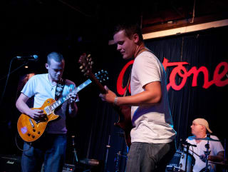 HAAM Battle of the Bands 2012 musicians at Antone's