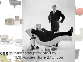 Thayer Coggin's traveling furniture roadshow at NEST Modern