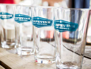 Grapevine Craft Brewery glasses