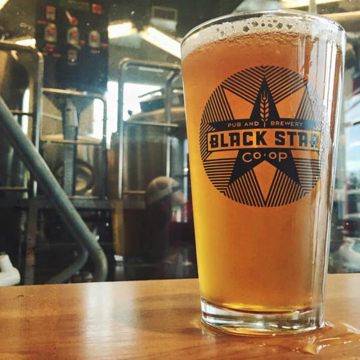 Black Star Co-op brewery pub Austin restaurant beer bar 2015