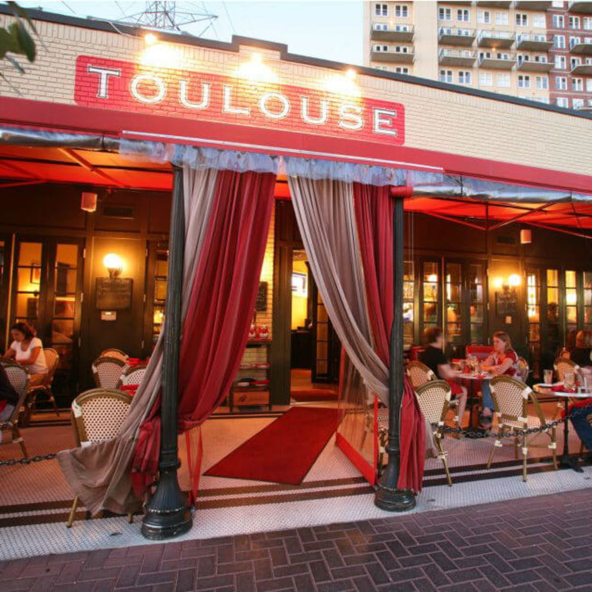 Toulouse Cafe & Bar on Knox Street in Dallas
