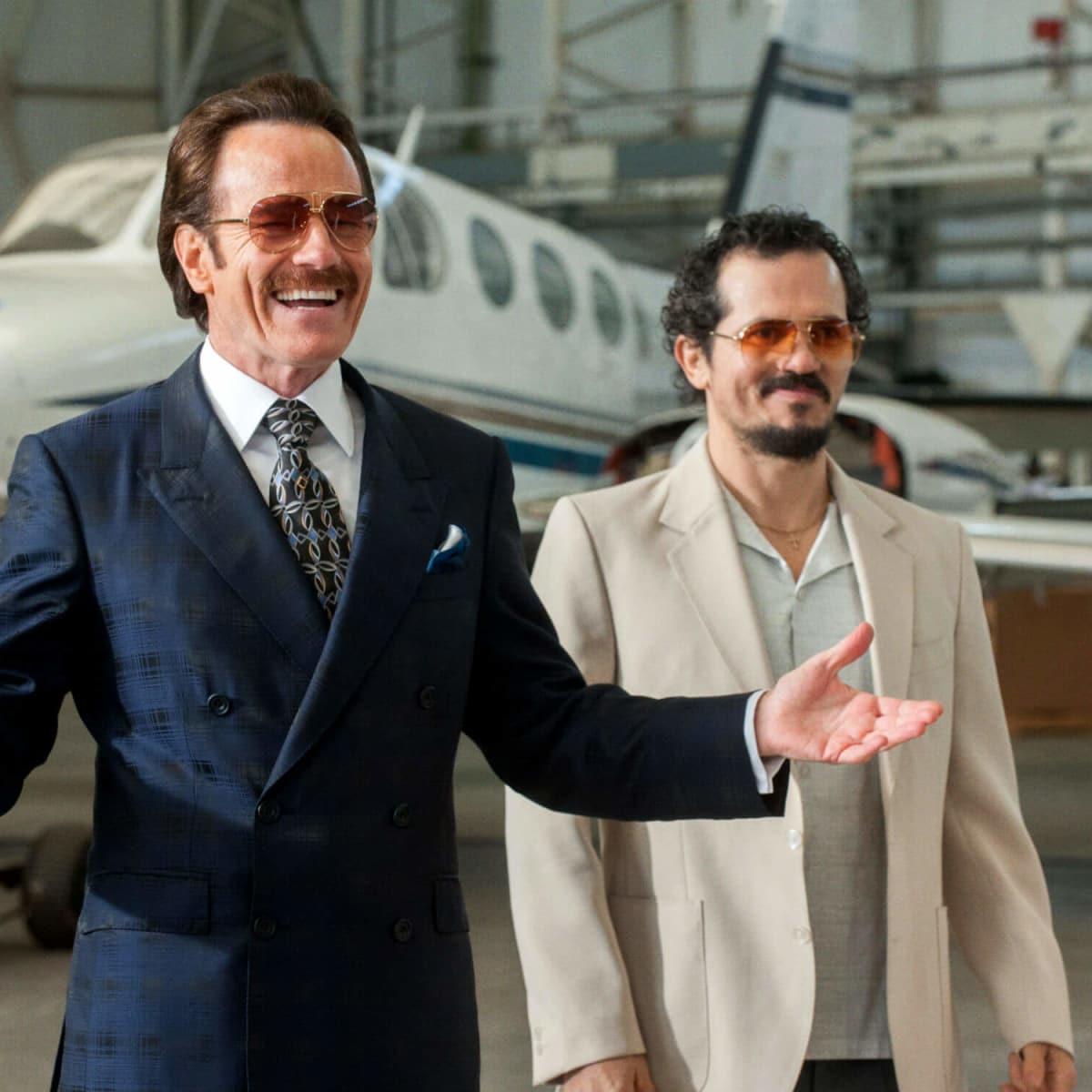 Bryan Cranston and John Leguizamo in The Infiltrator
