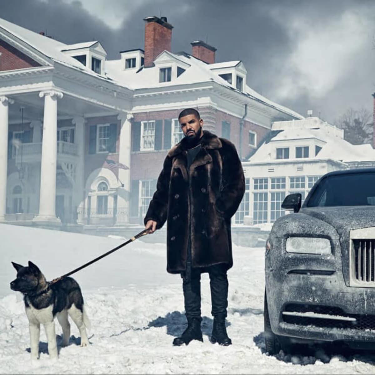 Drake and his dog Diamond