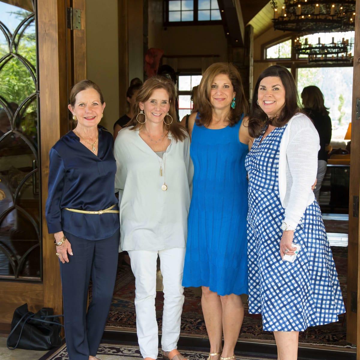 Houston Methodist in Aspen, July 2016, Hetta Heath, Anne Csorba, Kimberly Dominy, Lesha Elsenbrook