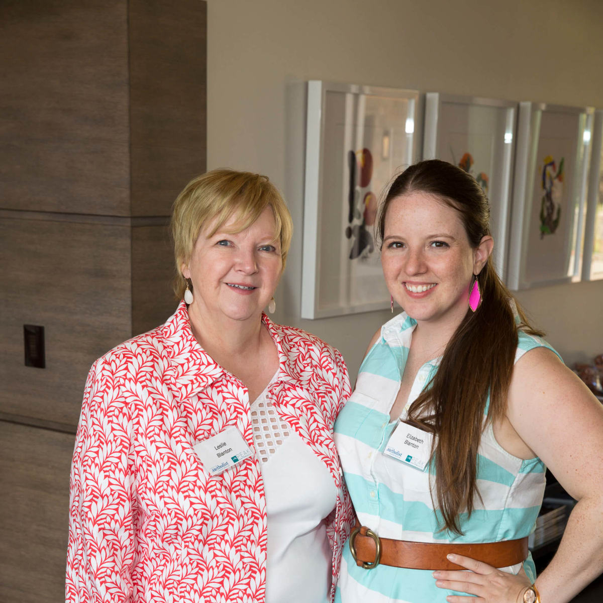 Houston Methodist in Aspen, July 2016, Leslie Blanton, Elizabeth Blanton