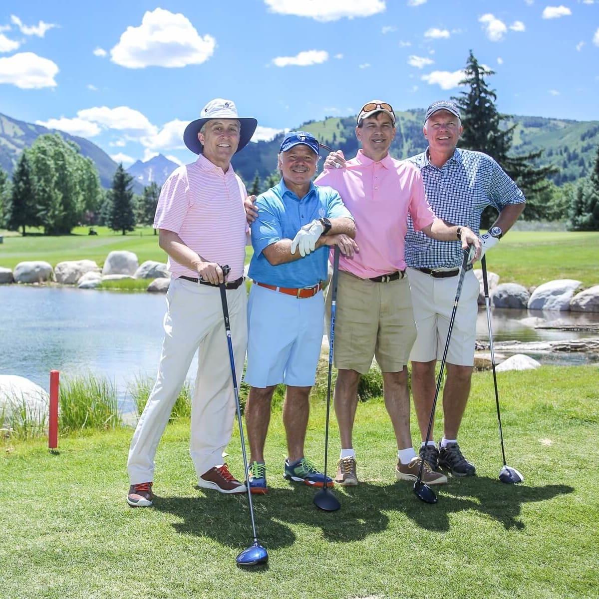 Houston Methodist in Aspen, July 2016,  Tom Elsenbrook, David Dominy, Les Csorba, Todd Brock