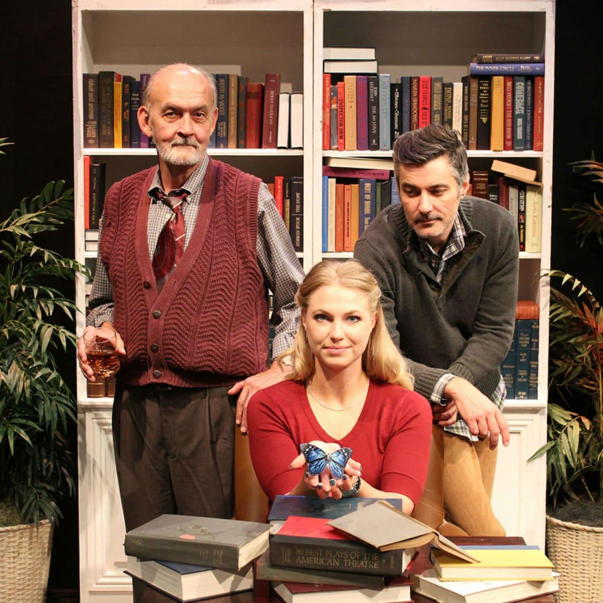 Theatre Three presents The Novelist