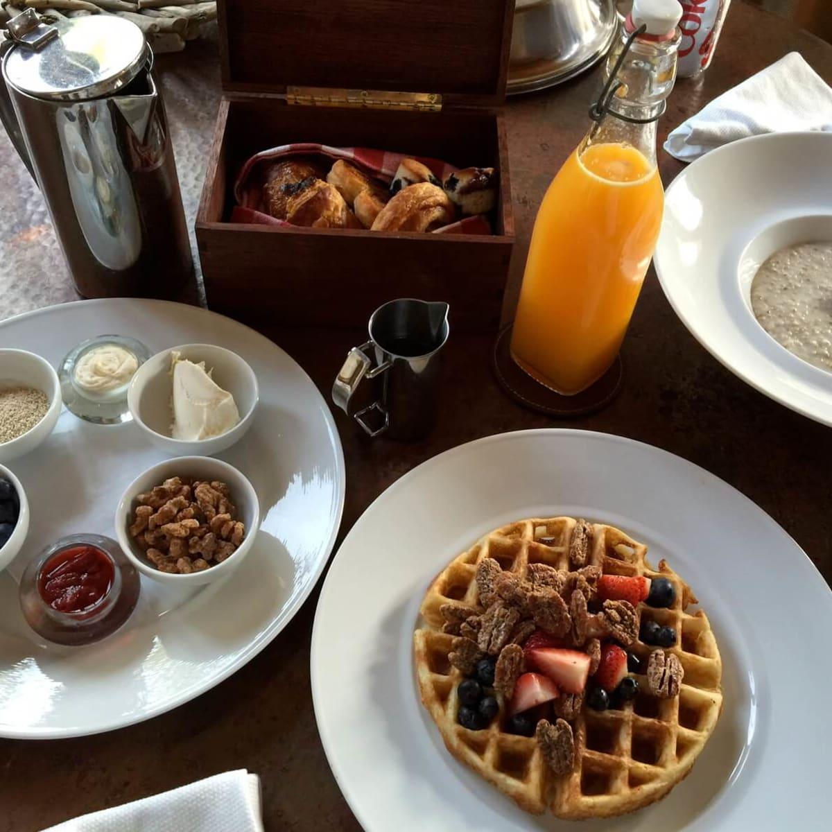 Breakfast at Inn at Dos Brisas