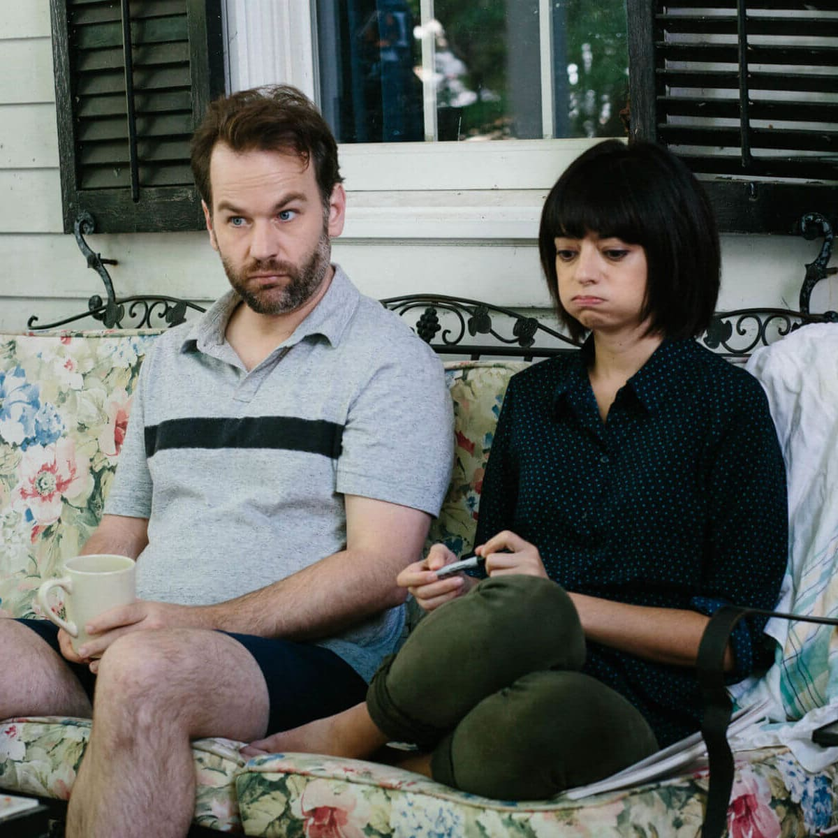 Mike Birbiglia and Kate Micucci in Don't Think Twice