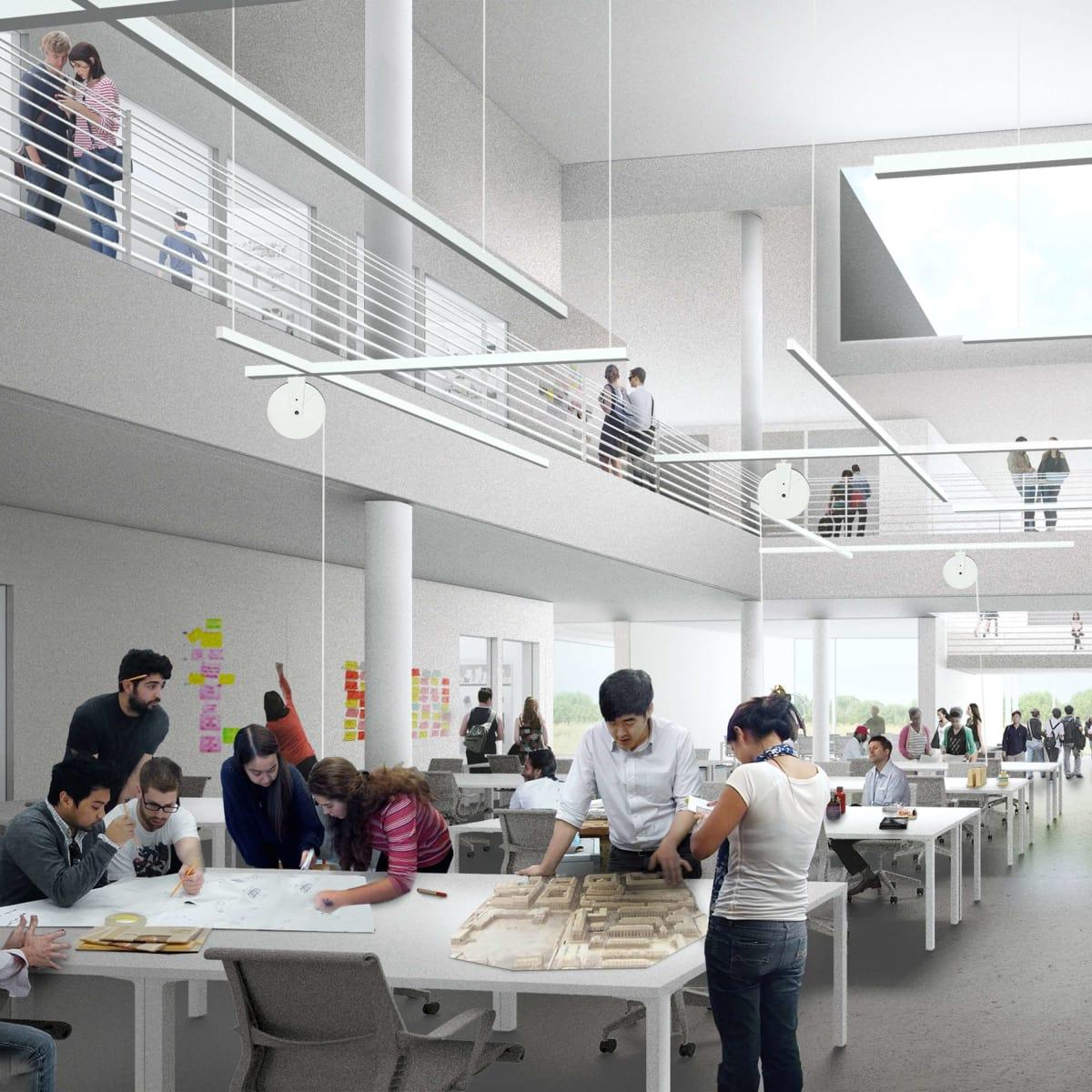 Moody Center for the Arts, creative open studio