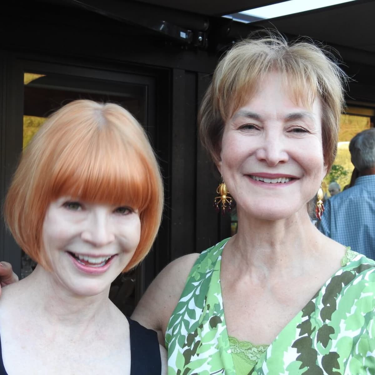 Kathy Dockry and Julia Gregory, both former Houstonians with strong ties to the city