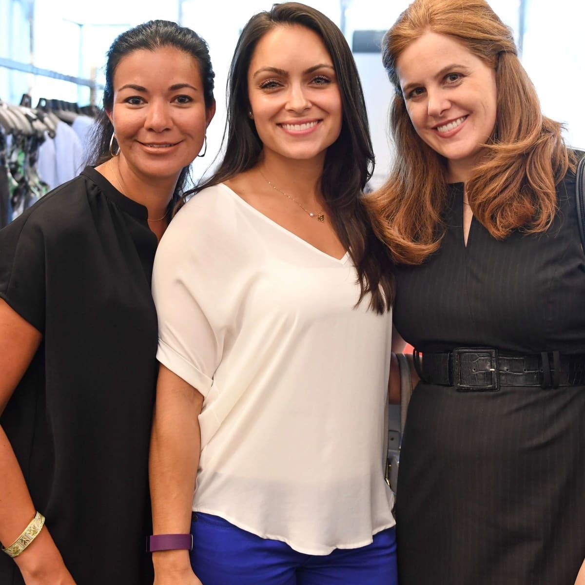 Ellevate at Tootsies, 8/16, Nicole Trevino, Leela Madan, Beverly Barrett