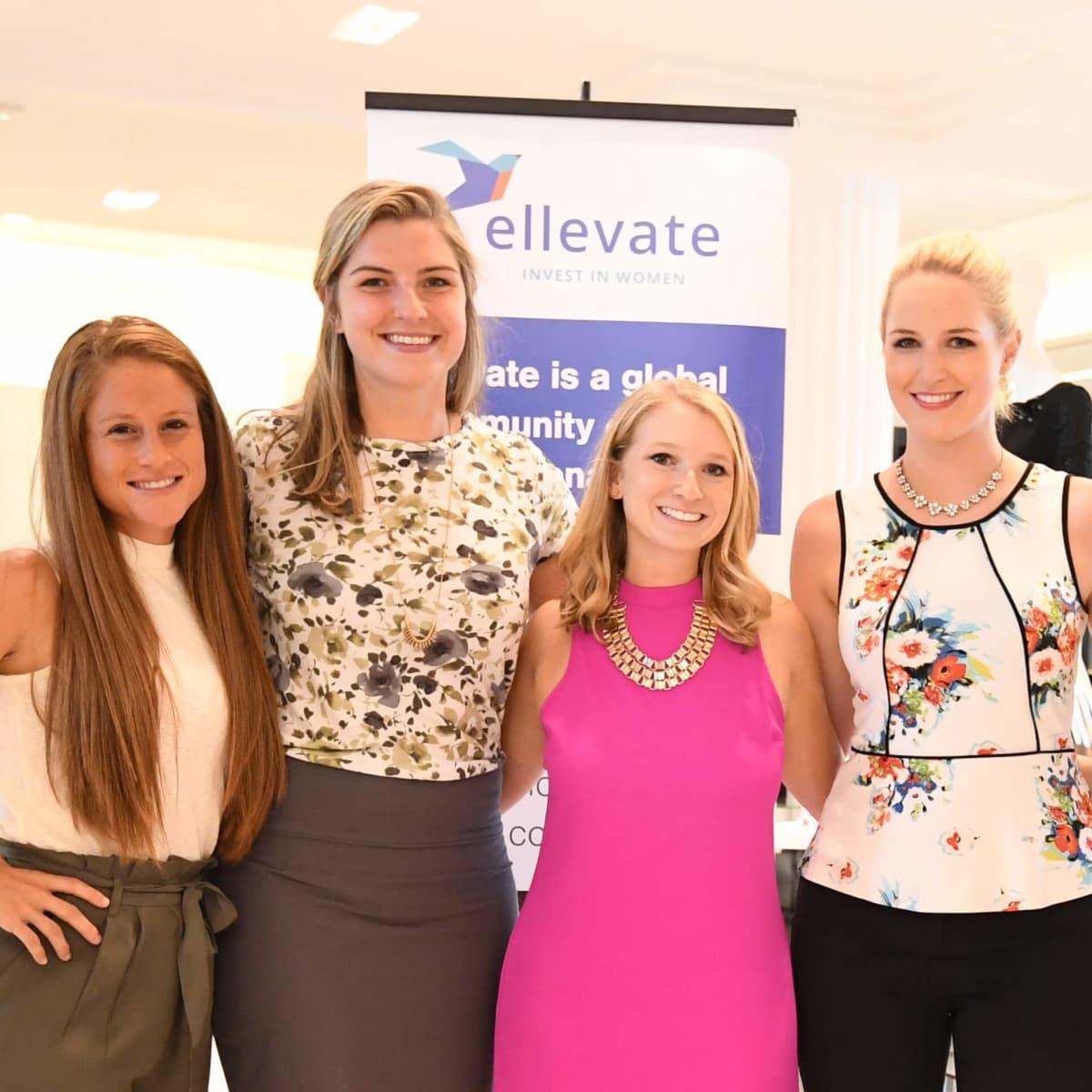 Ellevate at Tootsies, 8/16, Kara Hoffman, Liz Hartwig, Amanda Cotler, Shannon LeMaster