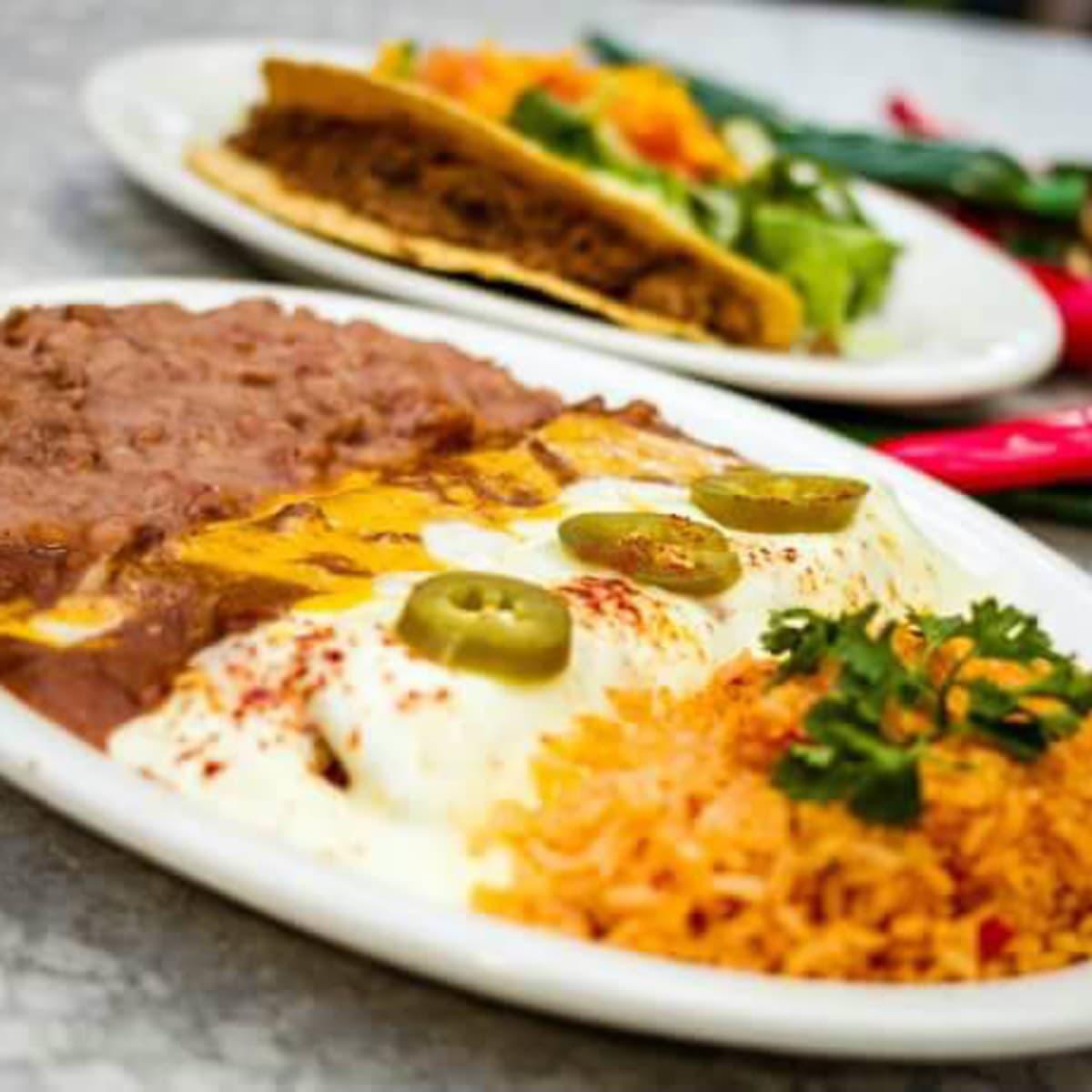 Enchiladas from Manny's
