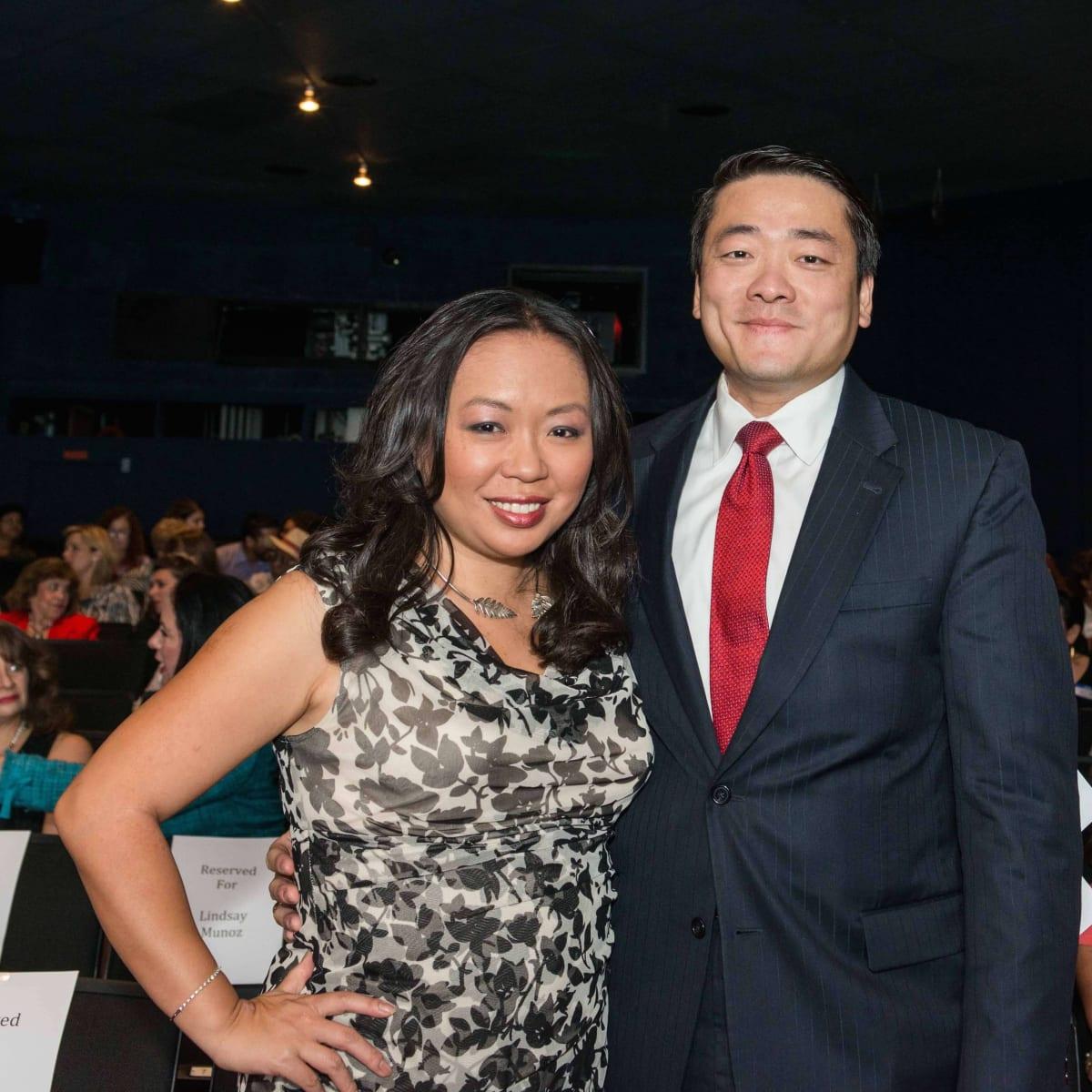 Miya Shay, Gene Wu at Houston's Women's Equality Day Celebration