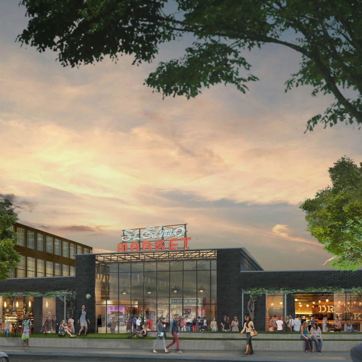 Saint Elmo Public Market rendering South Austin 2015