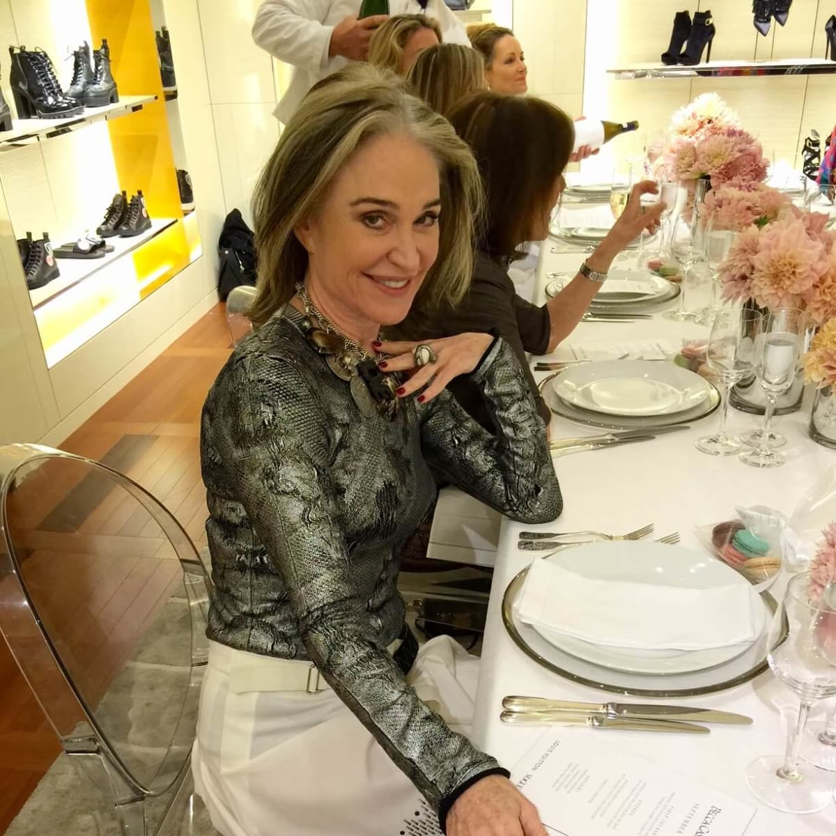 Vogue, Louis Vuitton lunch, 9/26 Becca Cason Thrash