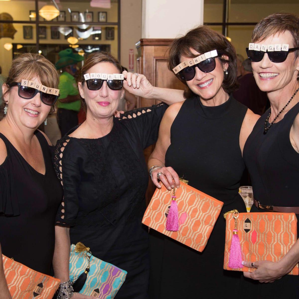 Scrabble in the City, Houston, 9/16, Laura Eaton, Debra Ford, Dee Dee Dochen, Leslie Rainwater