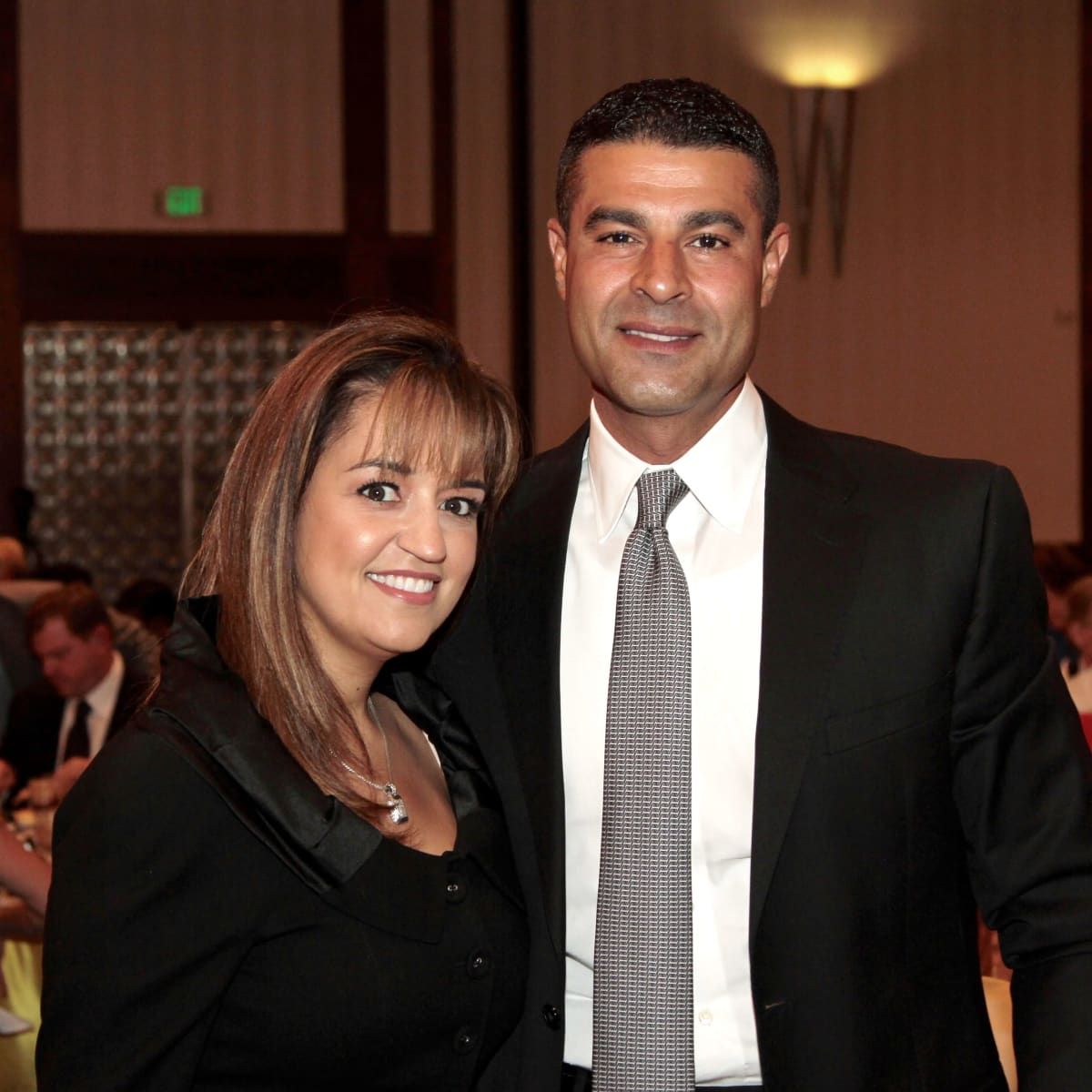Houston Children's Charity 20th anniversary, 9/16  Maria Alaoui, Omar Alaoui