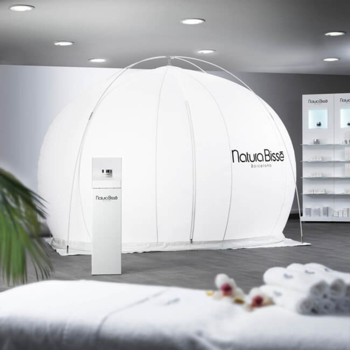 File photo of Natura Bisse oxygen facial bubble
