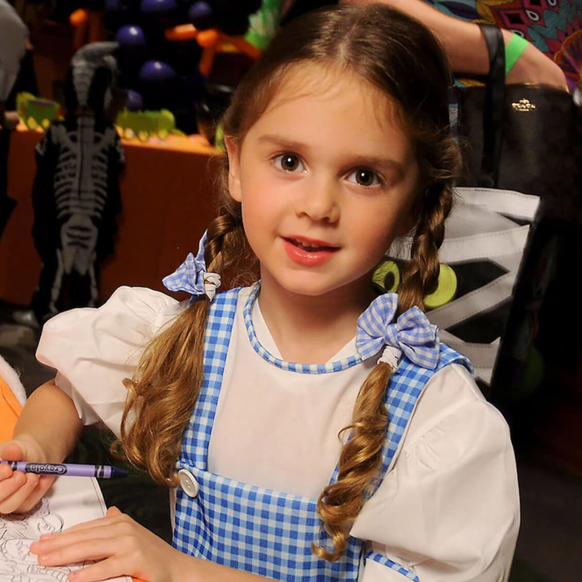 Houston, MD Anderson Children's Cancer Hospital Halloween Spooktacular, Oct. 2016, Emma Hamilton