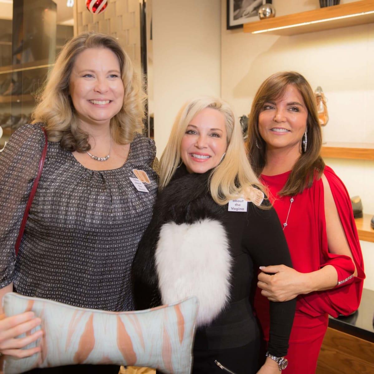 Cancer Below the Belt fundraiser, Dottie Bourassa, Dawn Herring Gunther, Beth Cassidy