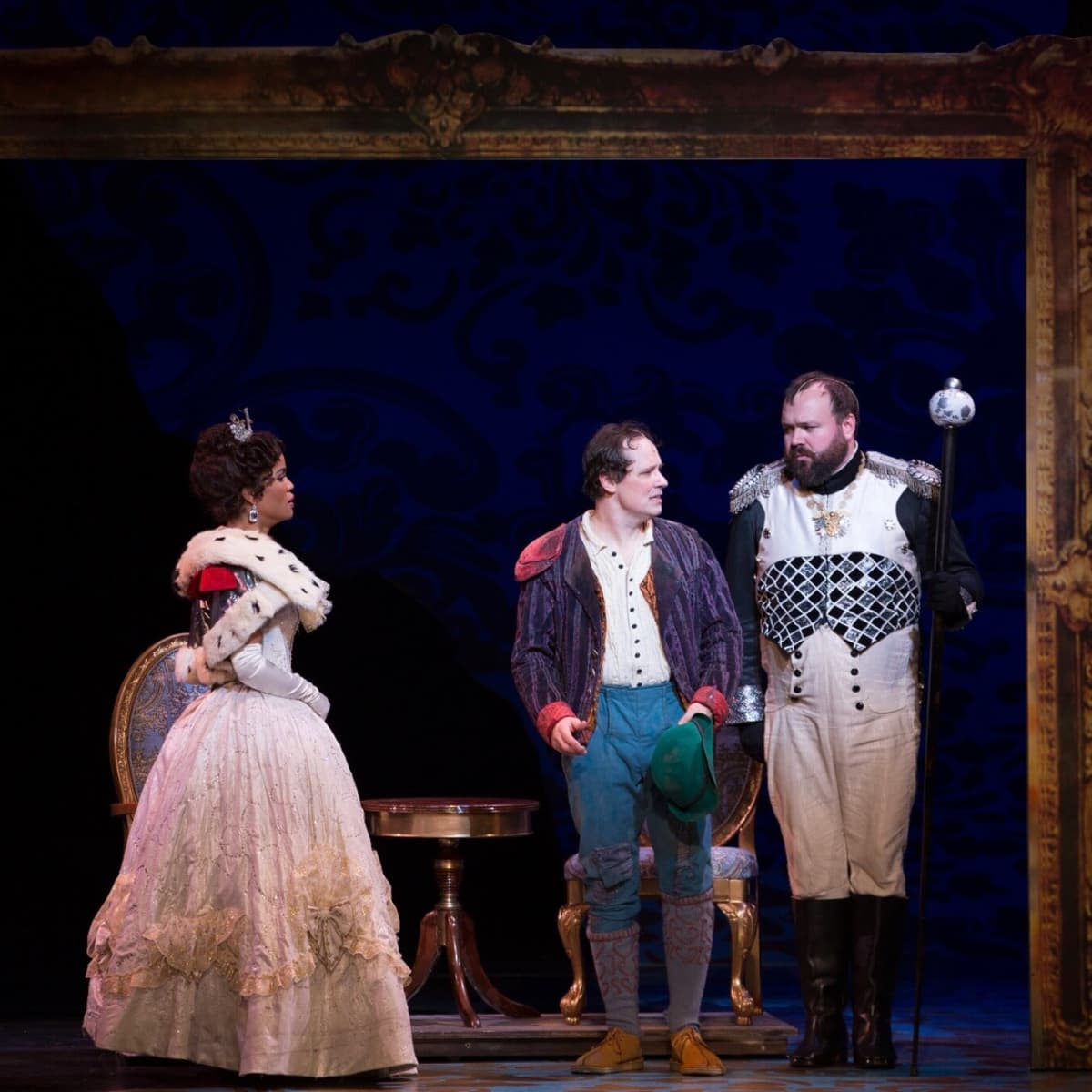 TUTS Into the Woods-Cinderella inside the frame