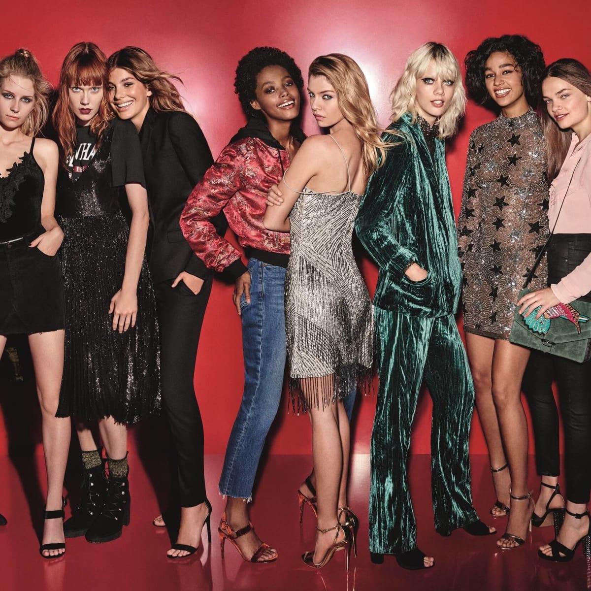 Topshop holiday womenswear