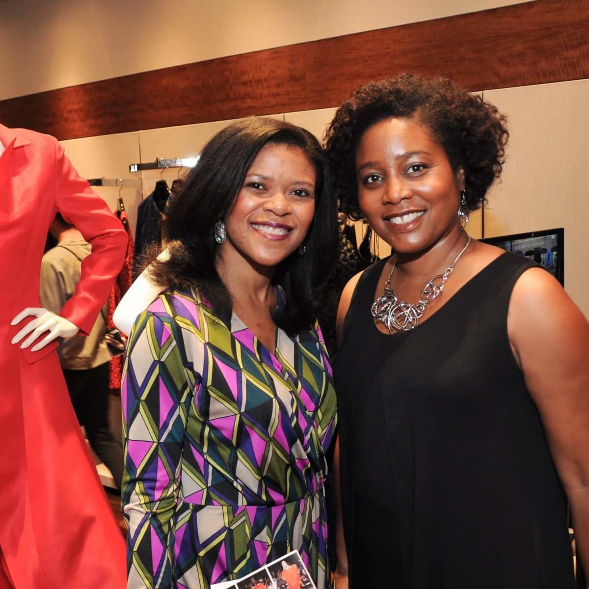 Raeanne Walker, Terri Smith at Christian Siriano show at Elizabeth Anthony
