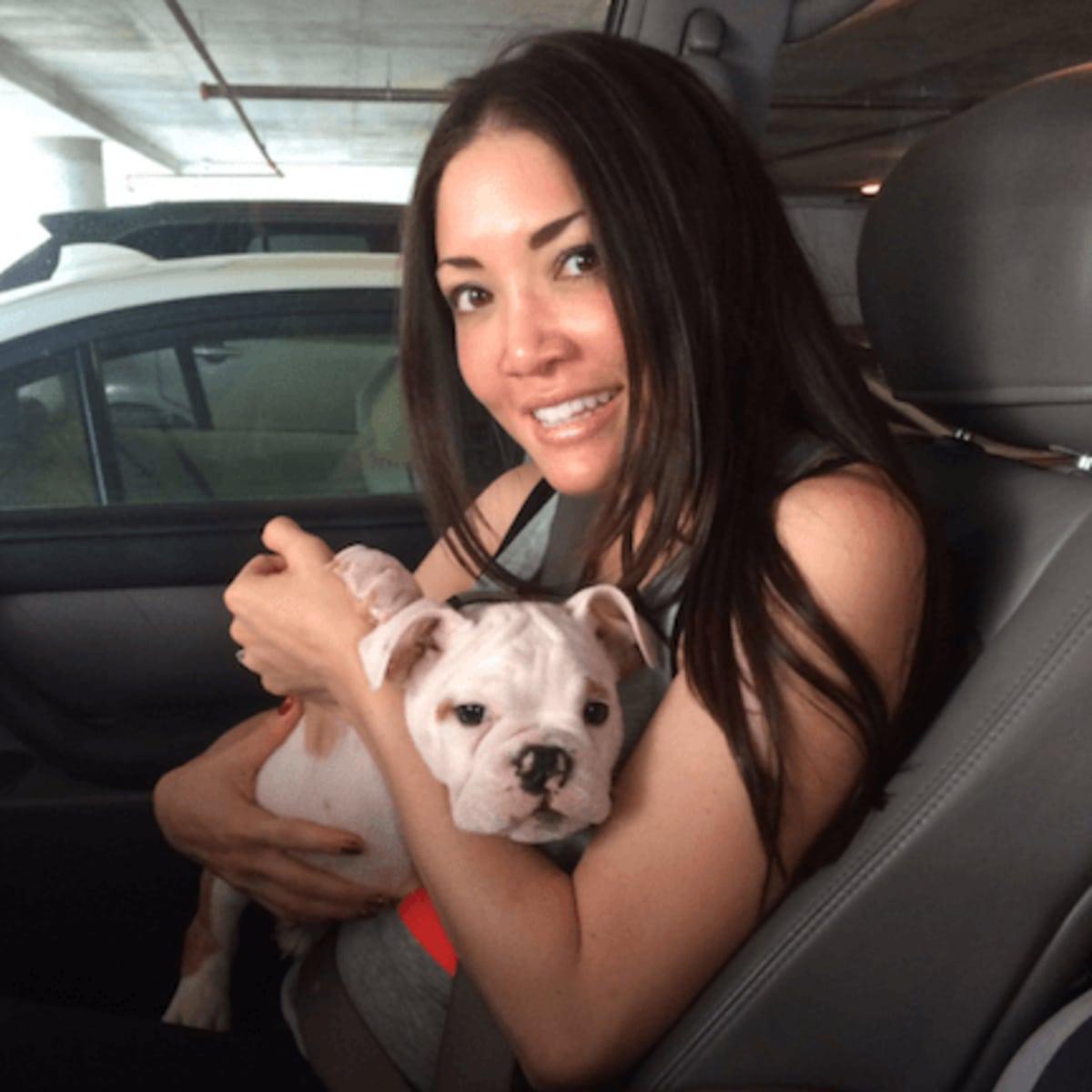 Married to Medicine Houston Erika with dog