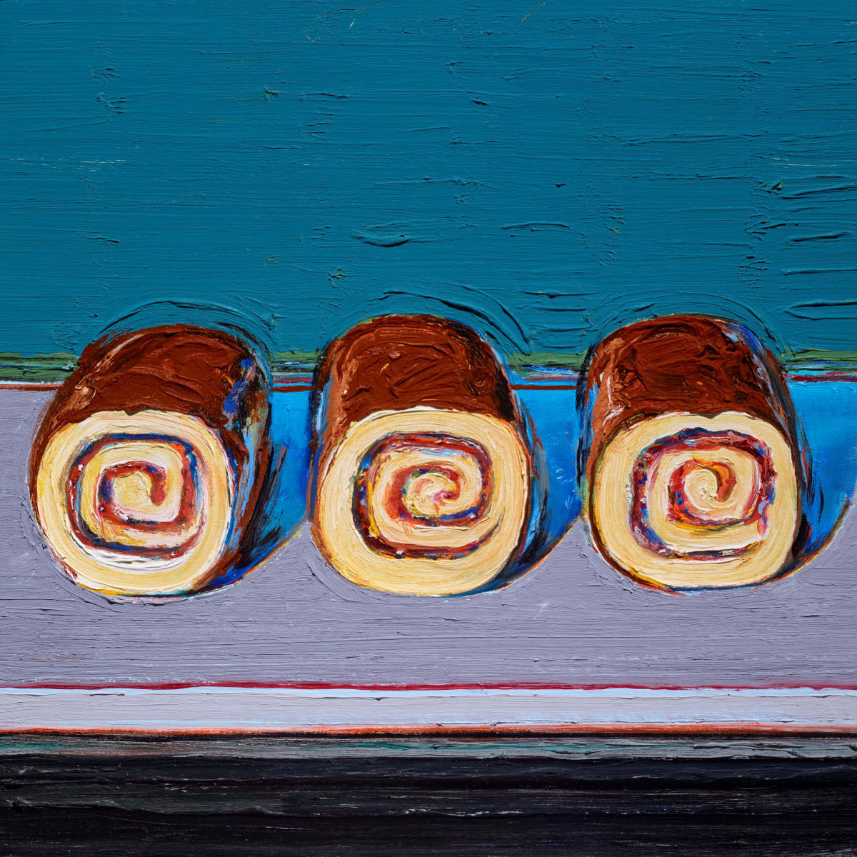 Two Centuries of American Still-Life Painting: Wayne Thiebaud