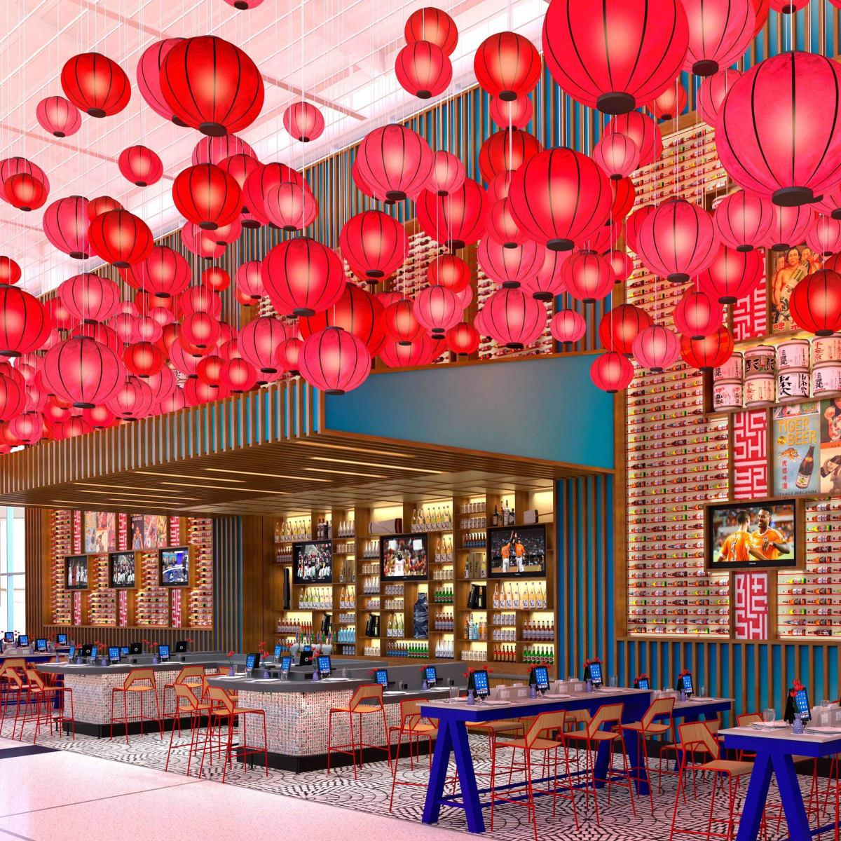 Yume restaurant at Bush Intercontinental Airport