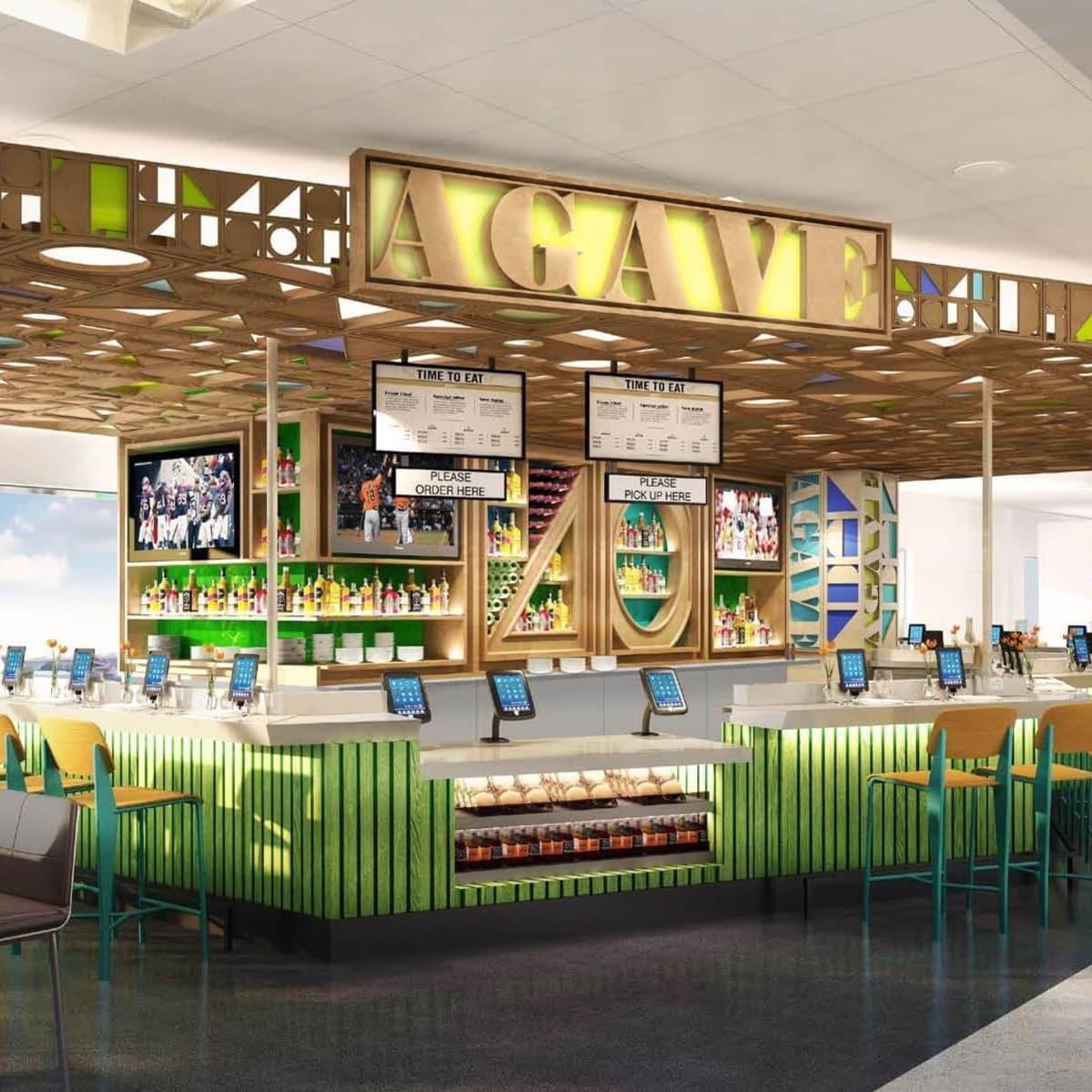 Agave restaurant at Bush Intercontinental Airport