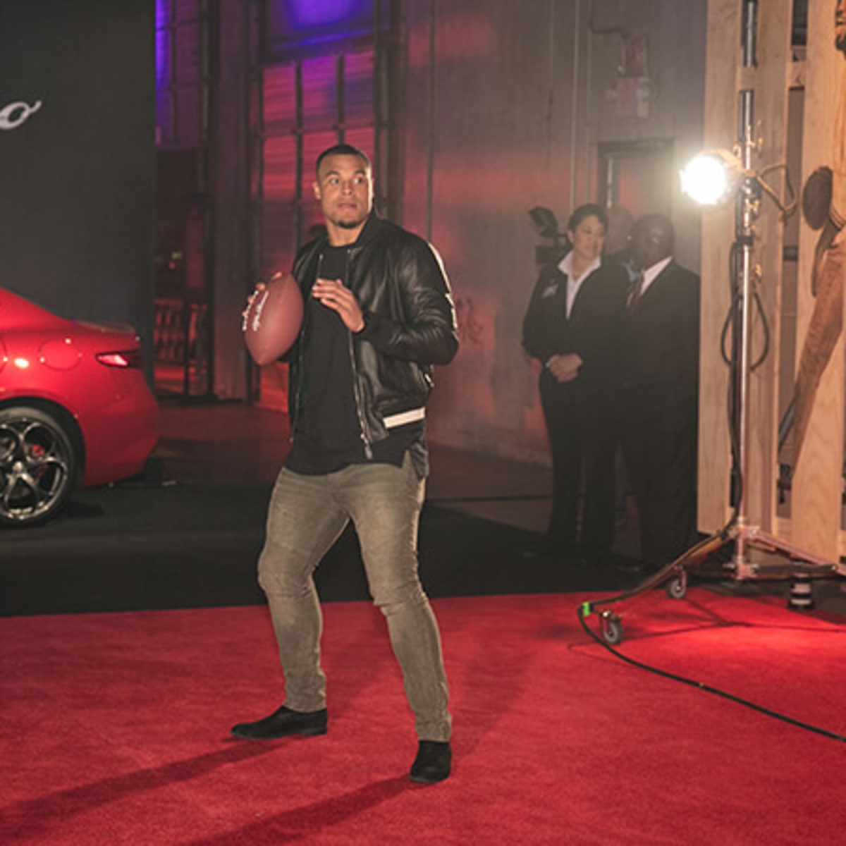 ESPN The Party red carpet Dak Prescott