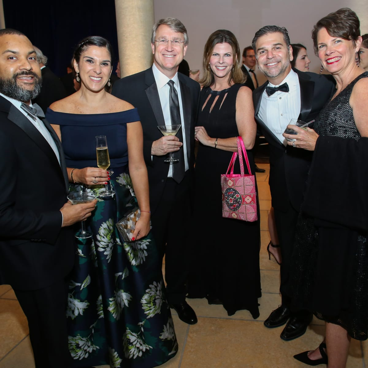 Blanton Museum of Art Gala 2017 Trevor Brown Marice Brown Mark Mai Mary Clay Greg Clay Kate Mai
